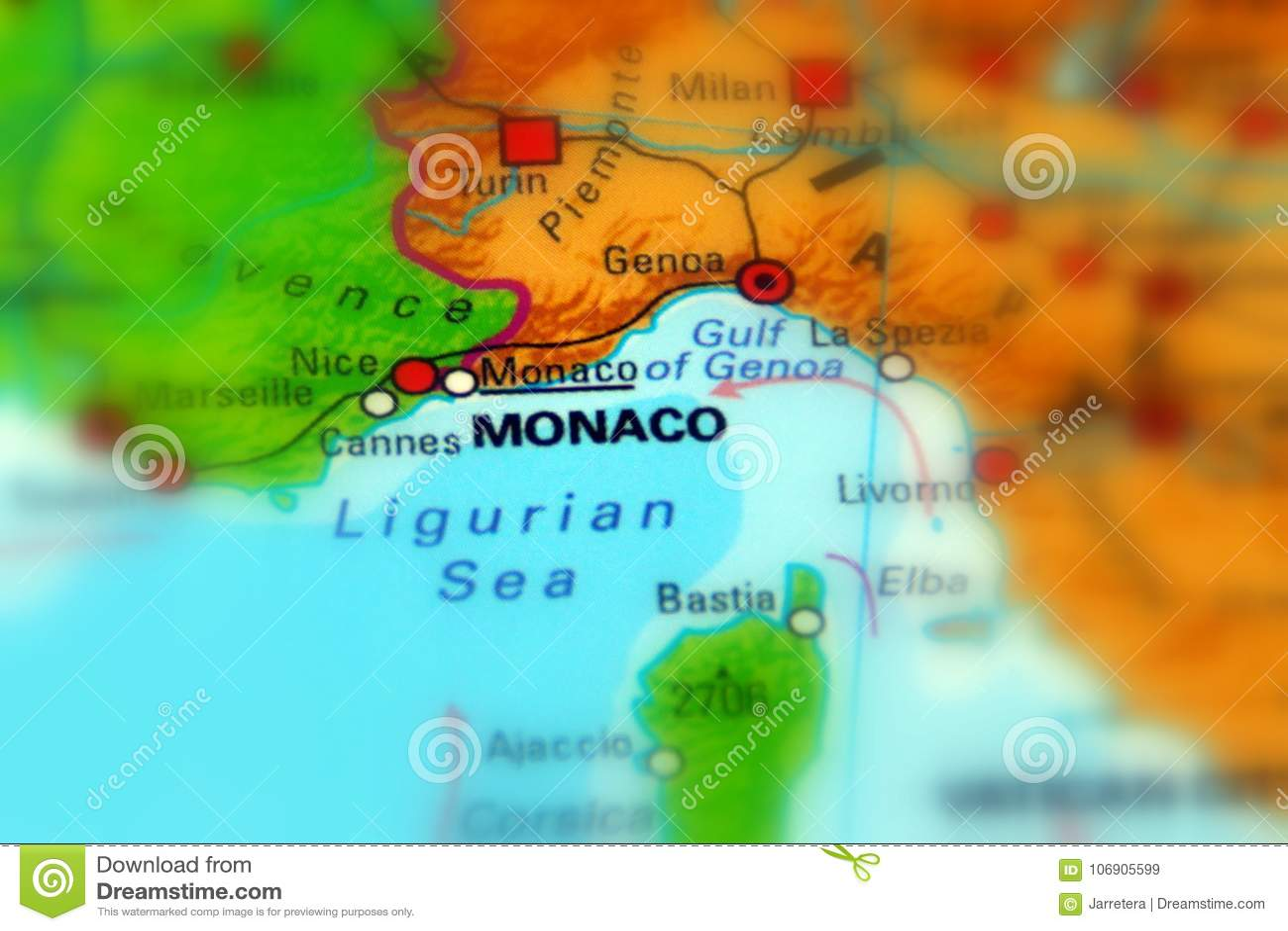 Monaco Monaco ksiąstewko, oficjalnie