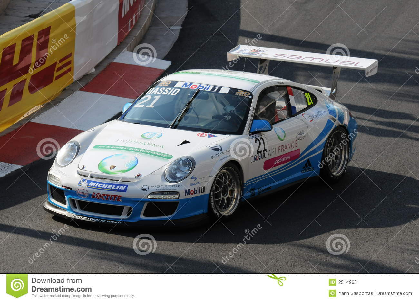 Monaco supercup Porsche
