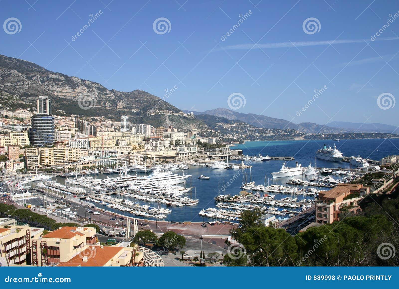 Monako widok