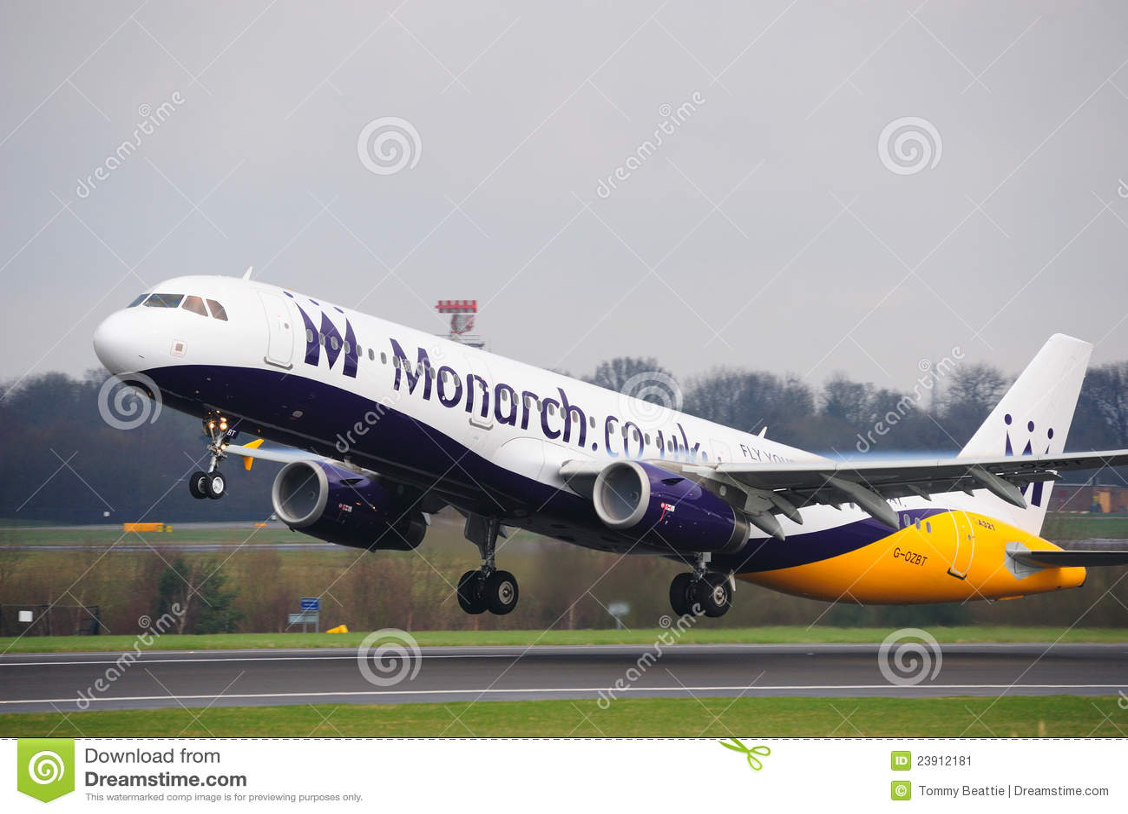 Monark för flygbuss a321