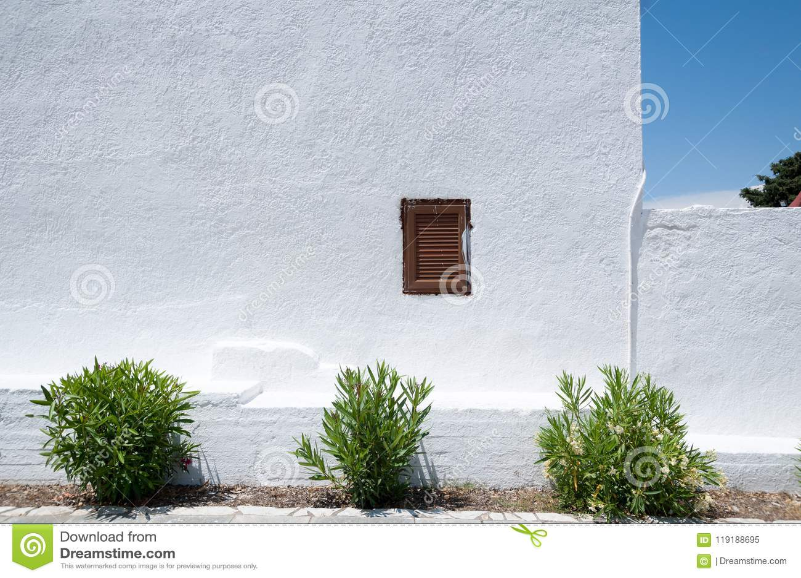 Monastère de Kalopetra, île de Rhodes, Rodos, Grèce
