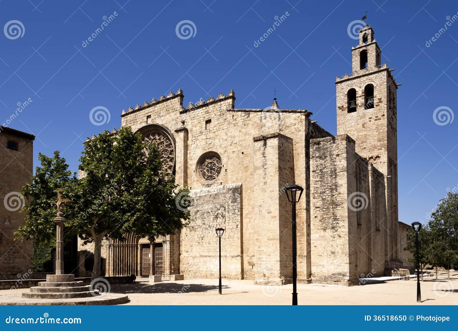 Monastère roman de Sant Cugat