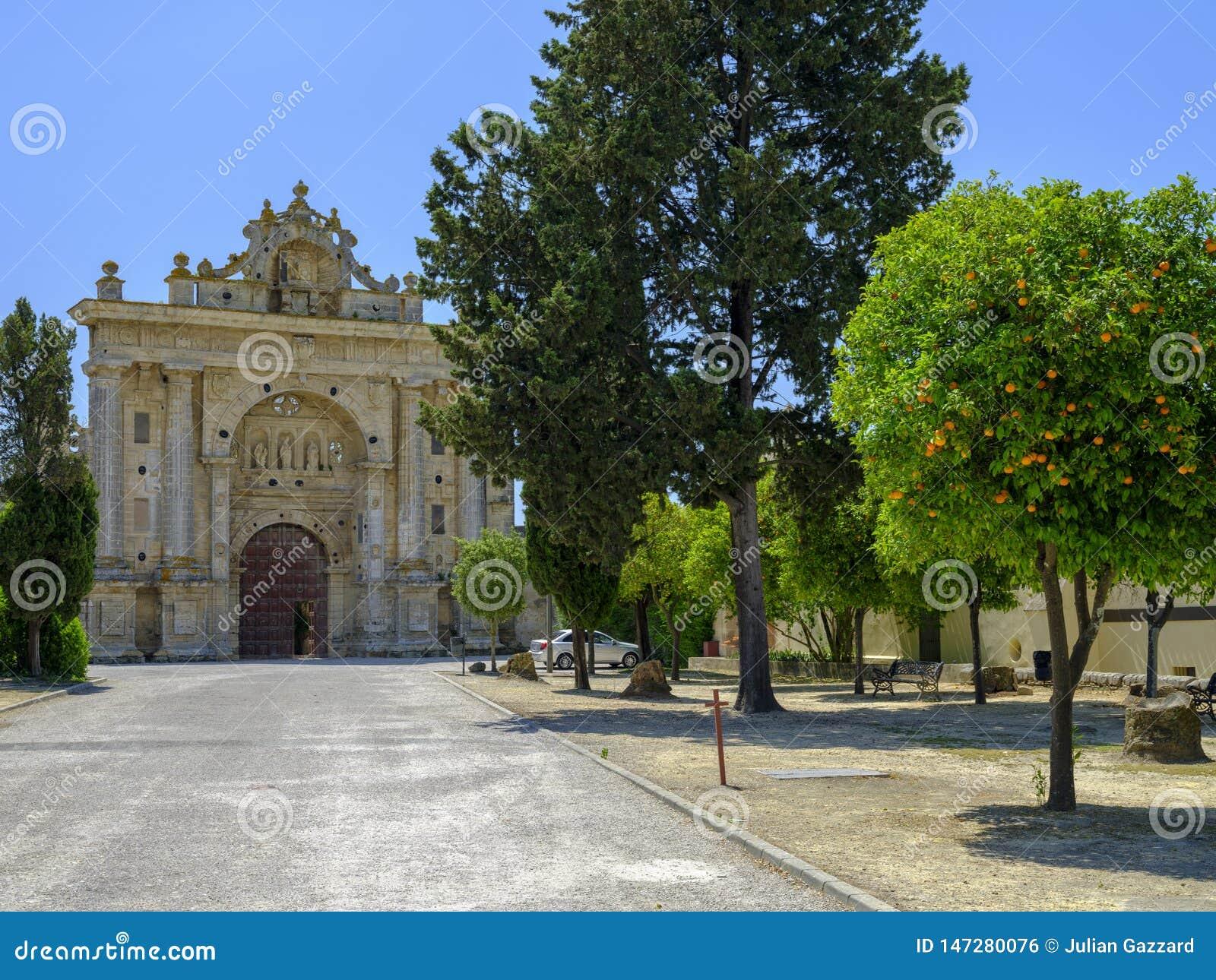 Monastério Cartuja de Santa Maria de la Defension de Jerez