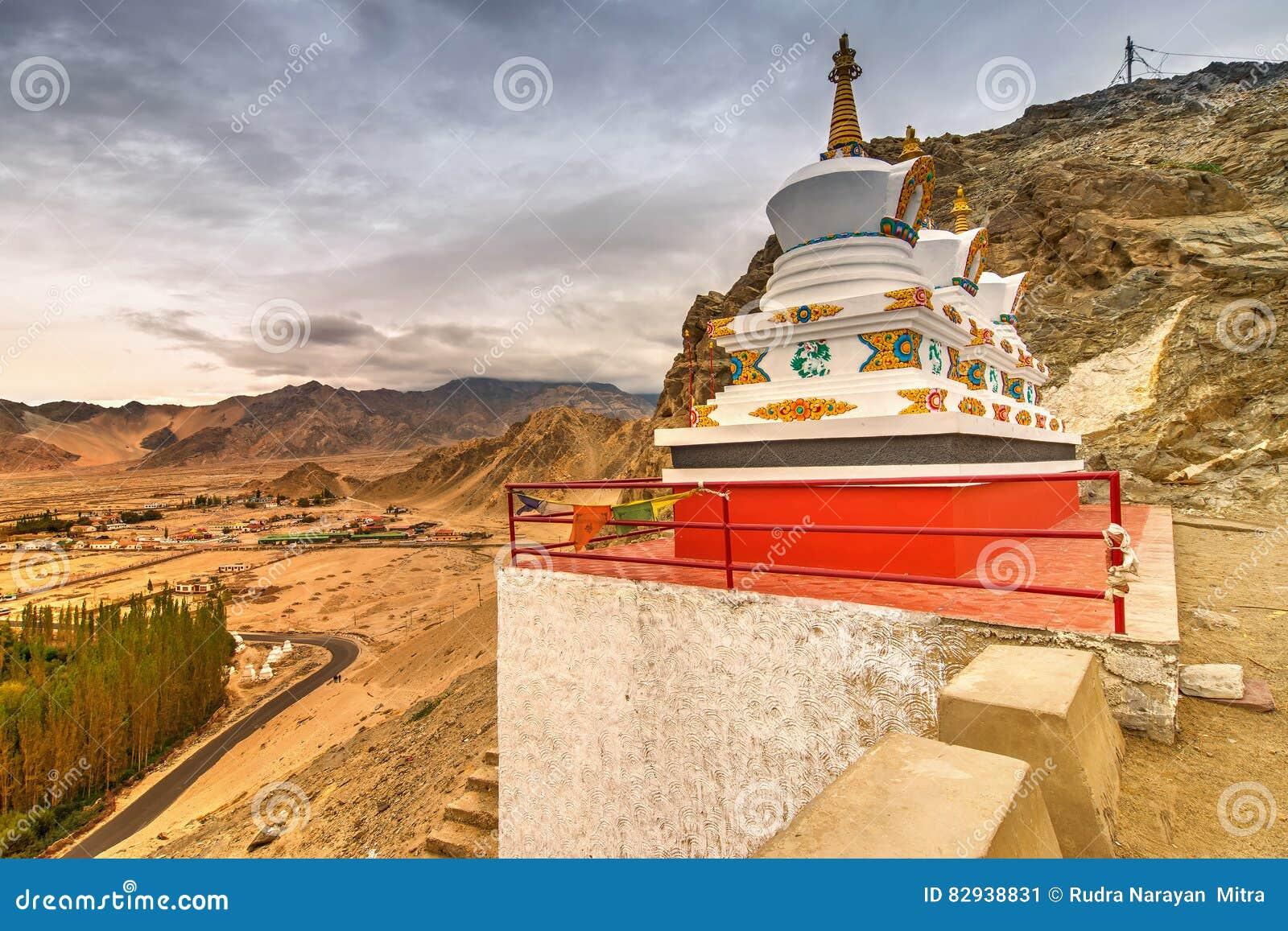 Monastério de Thiksay, Leh, Ladakh, Jammu e Caxemira, Índia