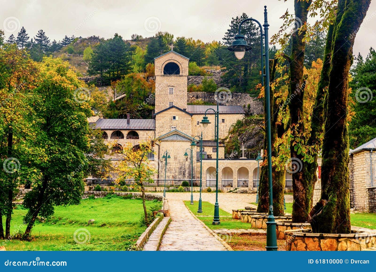 Monastério em Cetinje, Montenegro