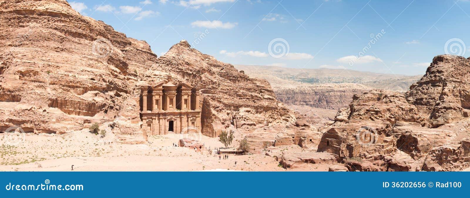Monastartyen, Petra, Jordanien