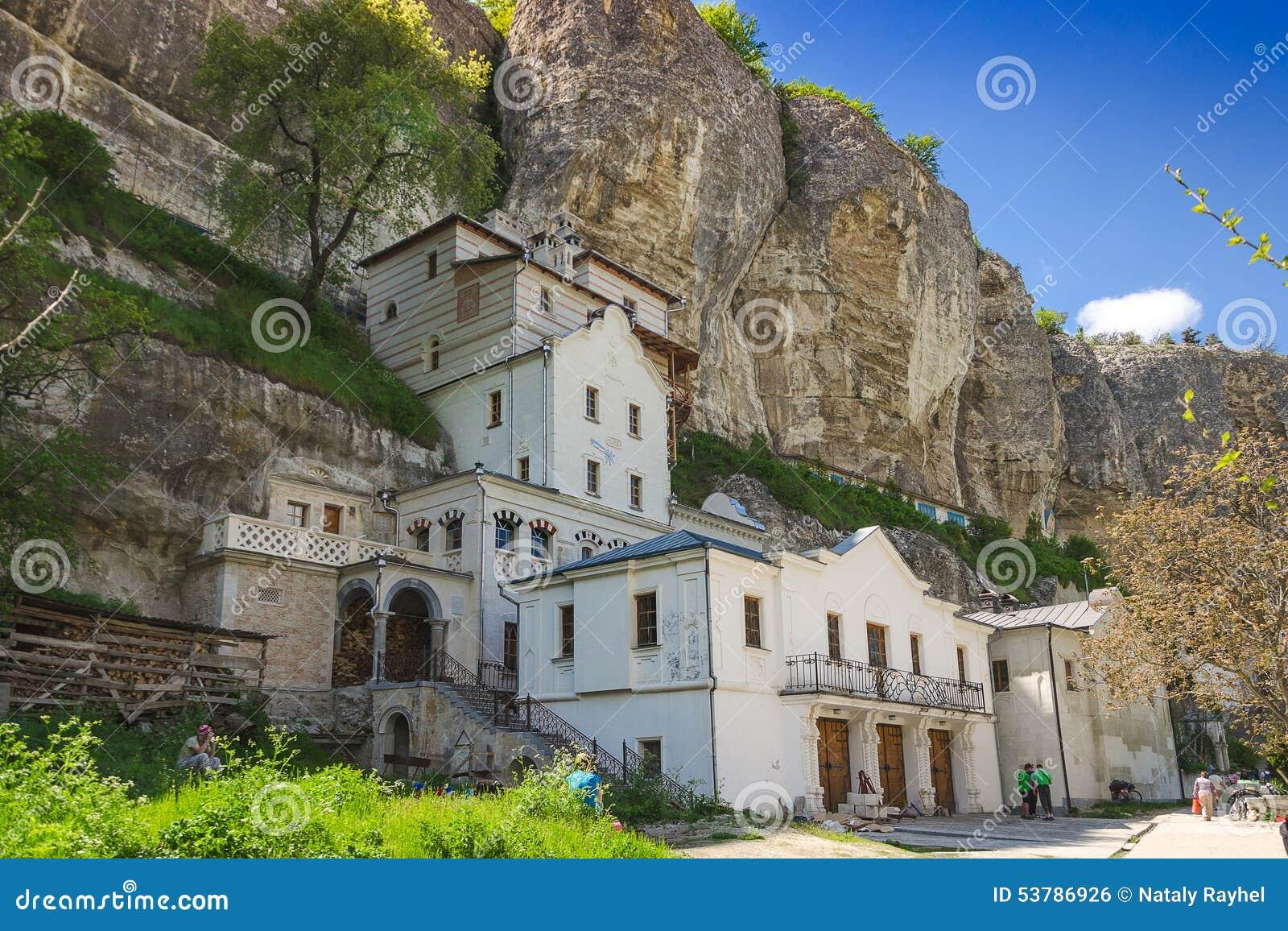 Monaster w górach