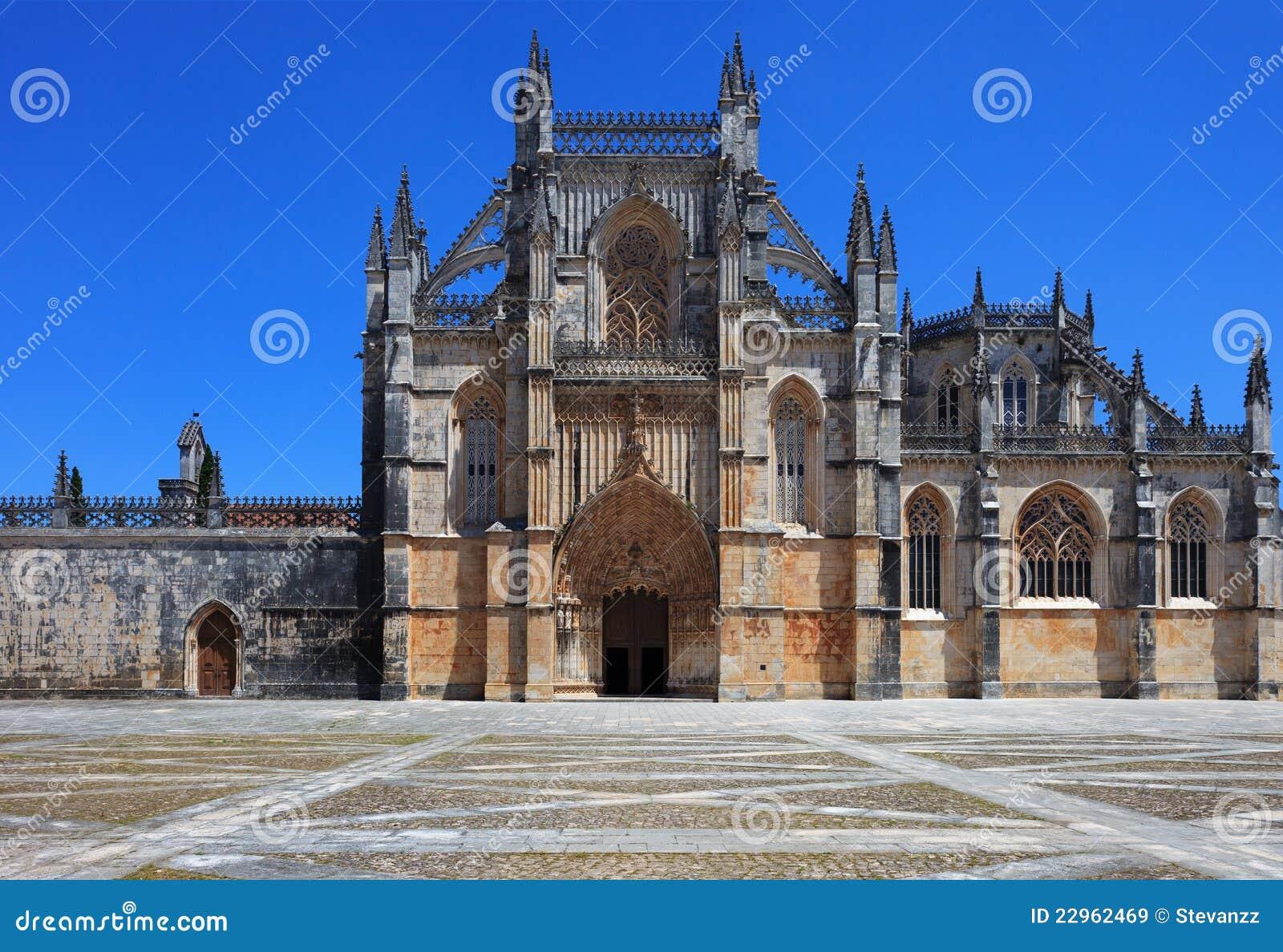 Monasterio de Batalha. Sitio de la UNESCO, Portugal