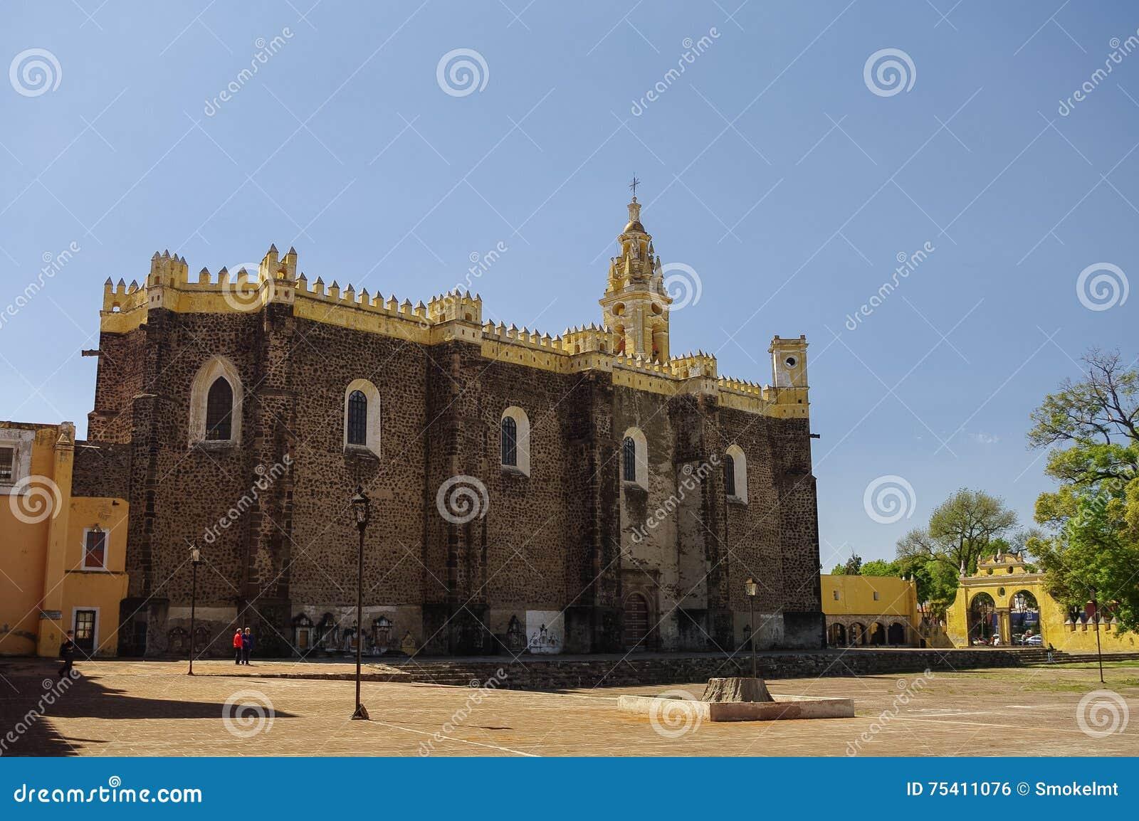 Monasterio de Gabriel Archangel del santo (Convento de San Gabriel), Cholul
