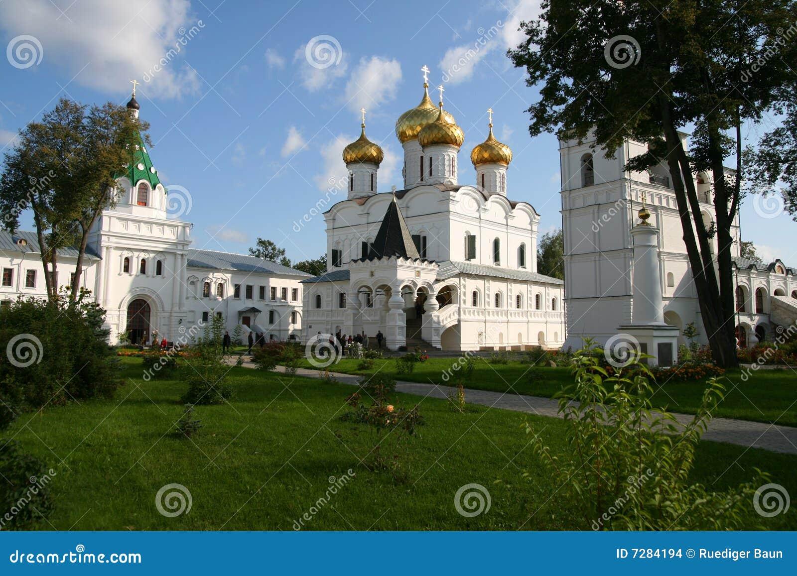 Monasterio de Ipatiev en la ciudad de Kostroma