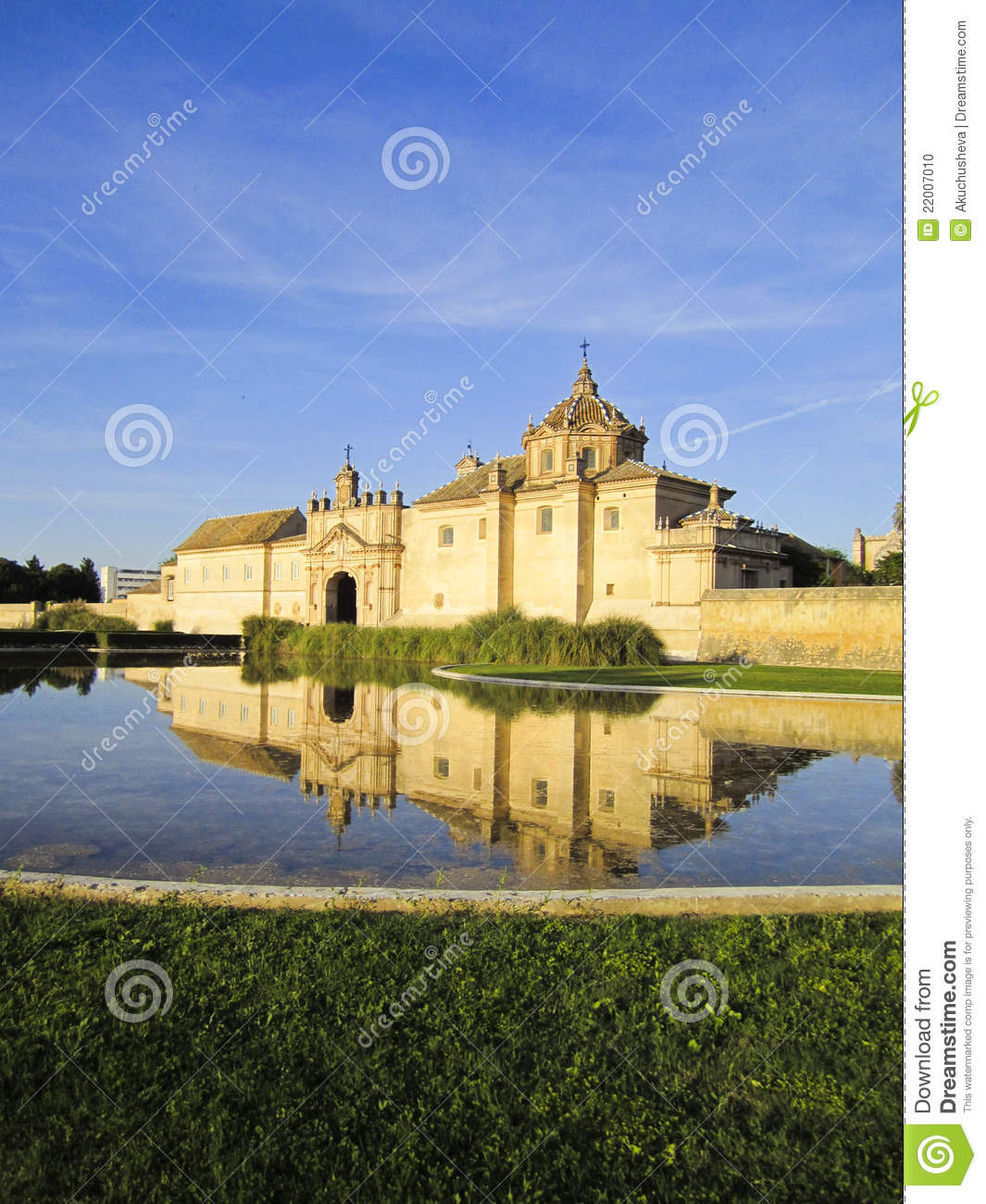 Monasterio de la cartuja sevilla stock photo image for La cartuja de sevilla