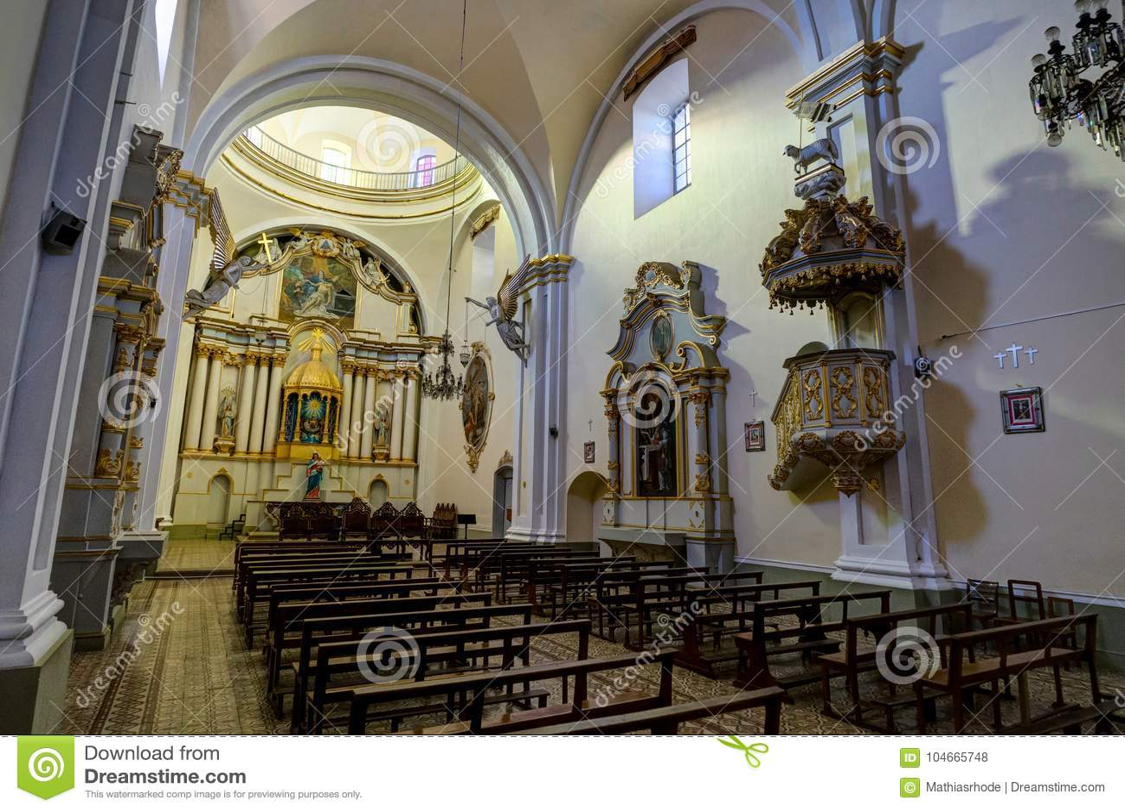 Monasterio de San Felipe Neri en Sucre Bolivia