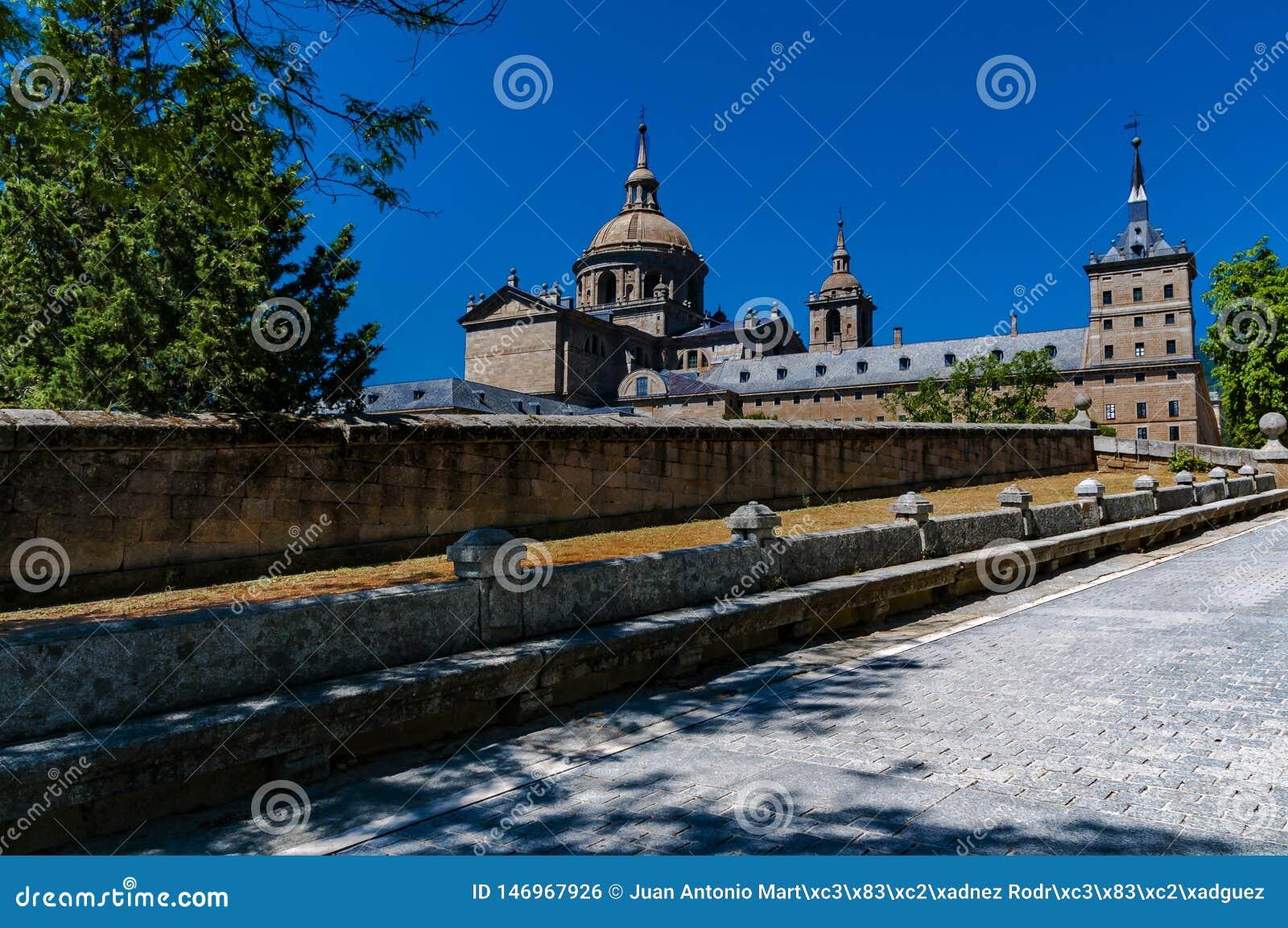 Monasterio de San Lorenzo de El Escorial Madrid, Espa?a