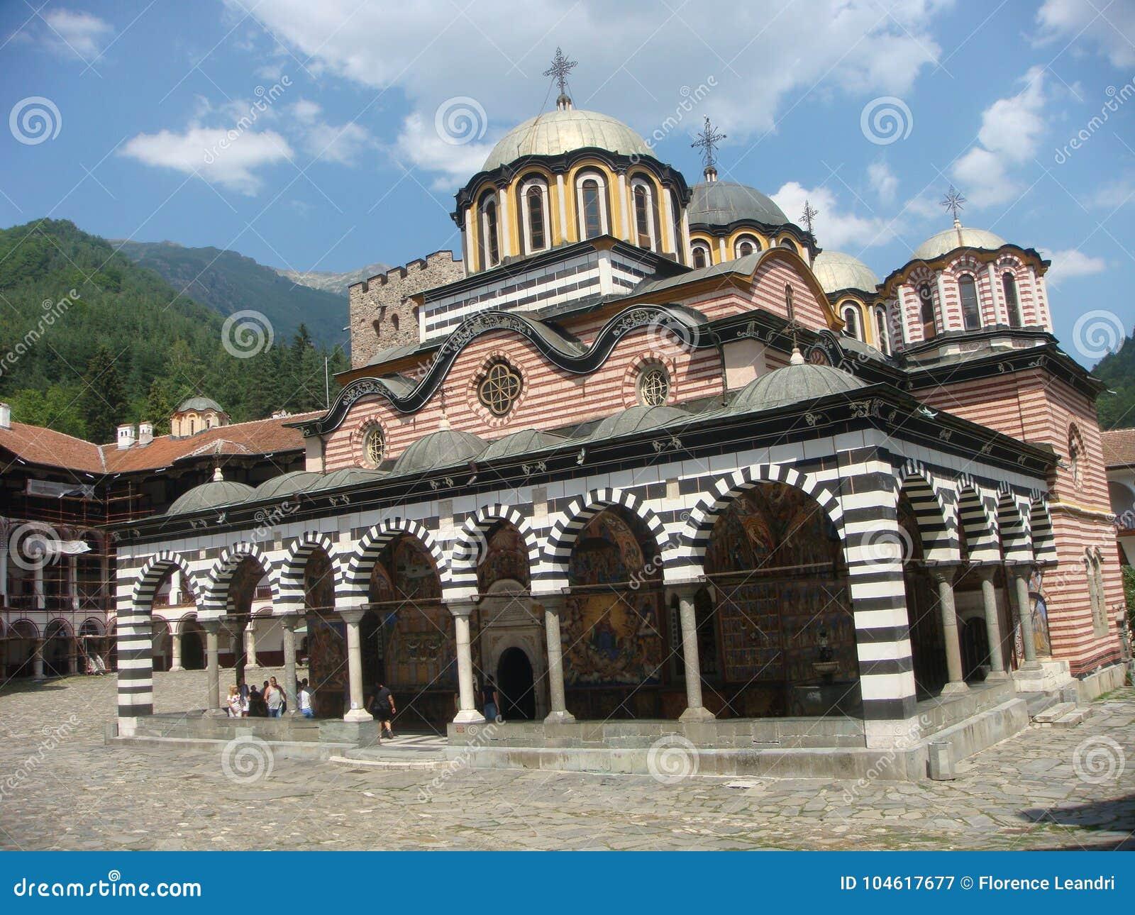 Monasterio ortodoxo de Rila en Bulgaria