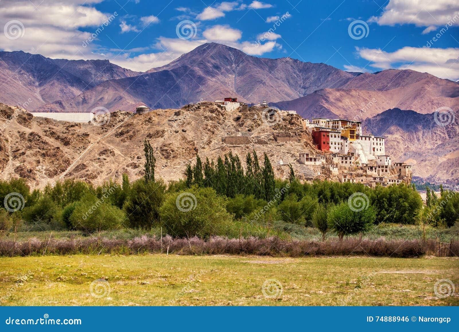 Monastero buddista antico di Thiksey, Leh-Ladakh