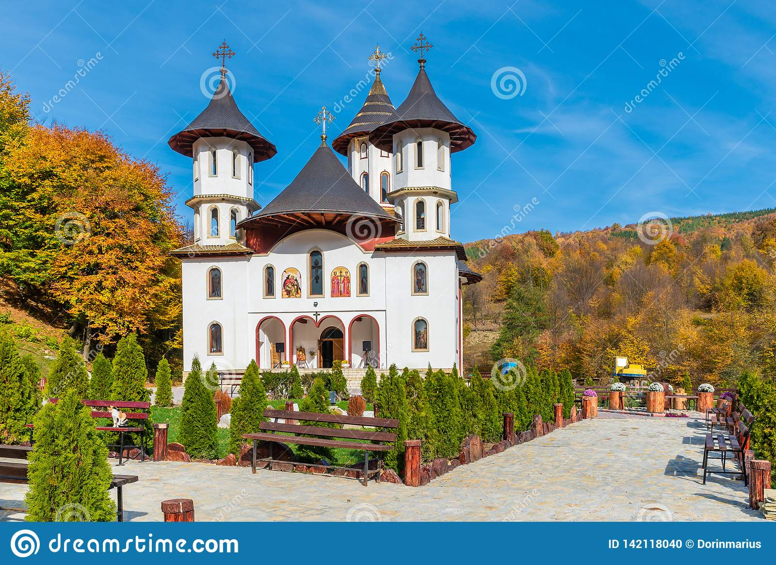 Monastero del ortodox di Codreanu
