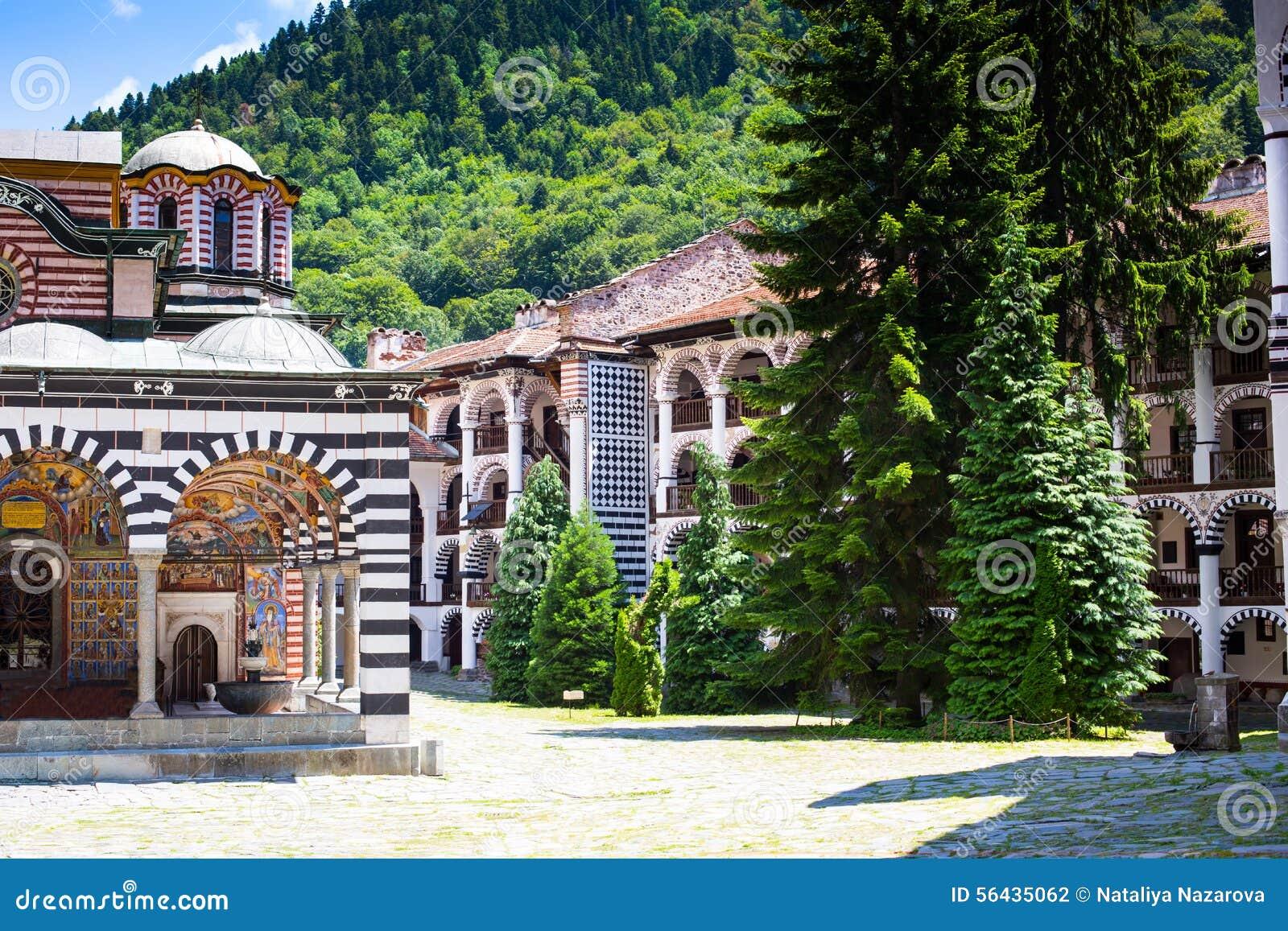 Monastero famoso di Rila, Bulgaria