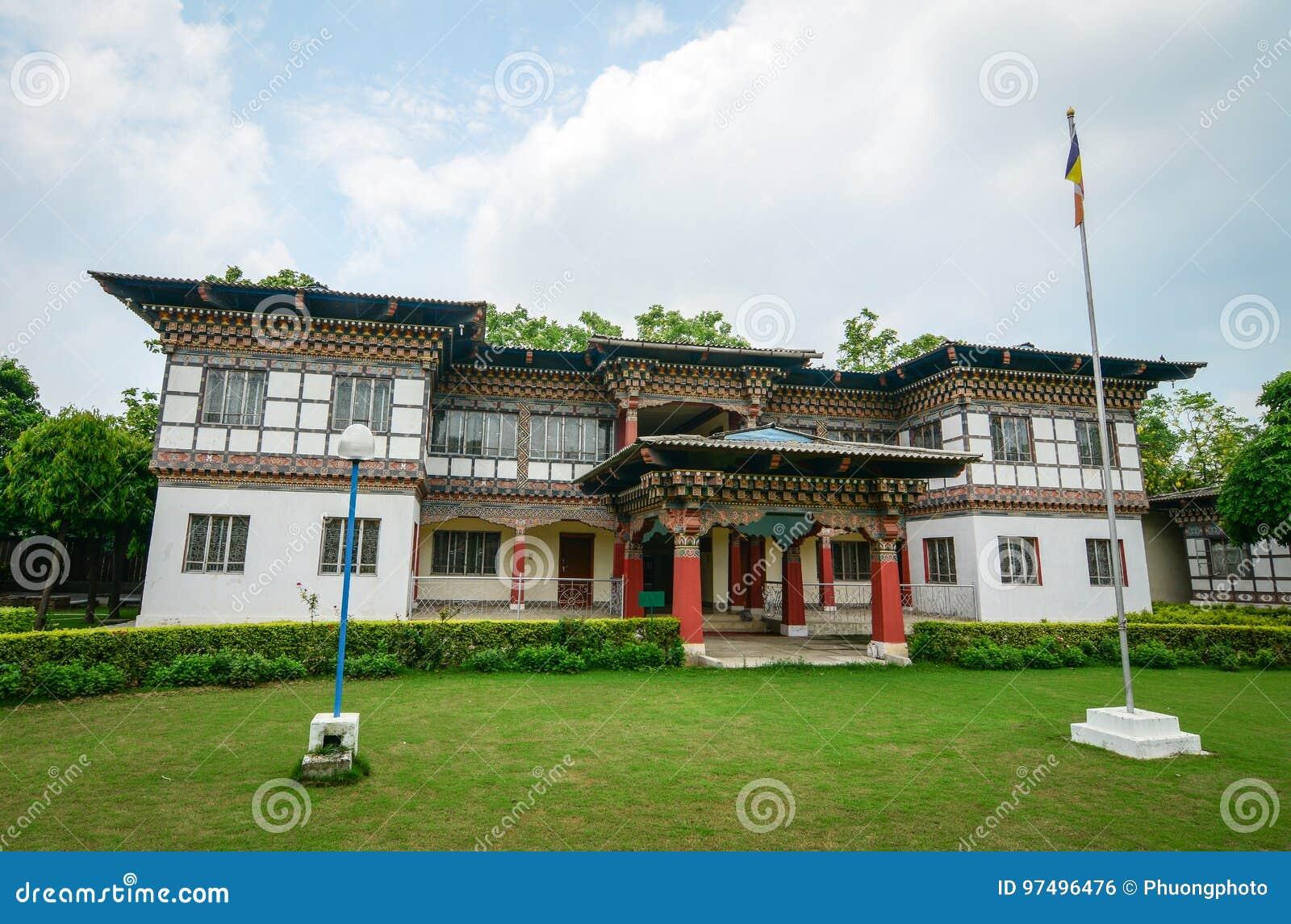 Monastero reale del Bhutanese in Bodhgaya, India