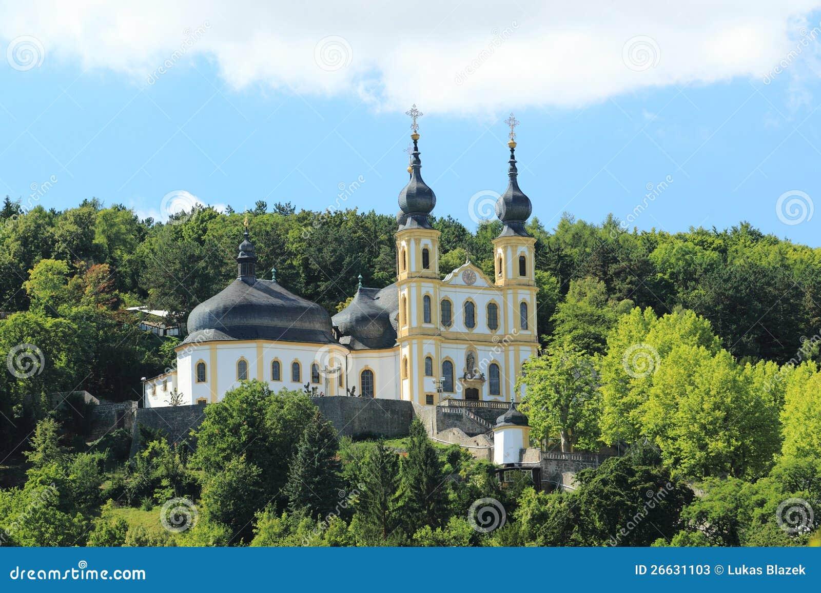 Monastery of capuchins in Wurzburg