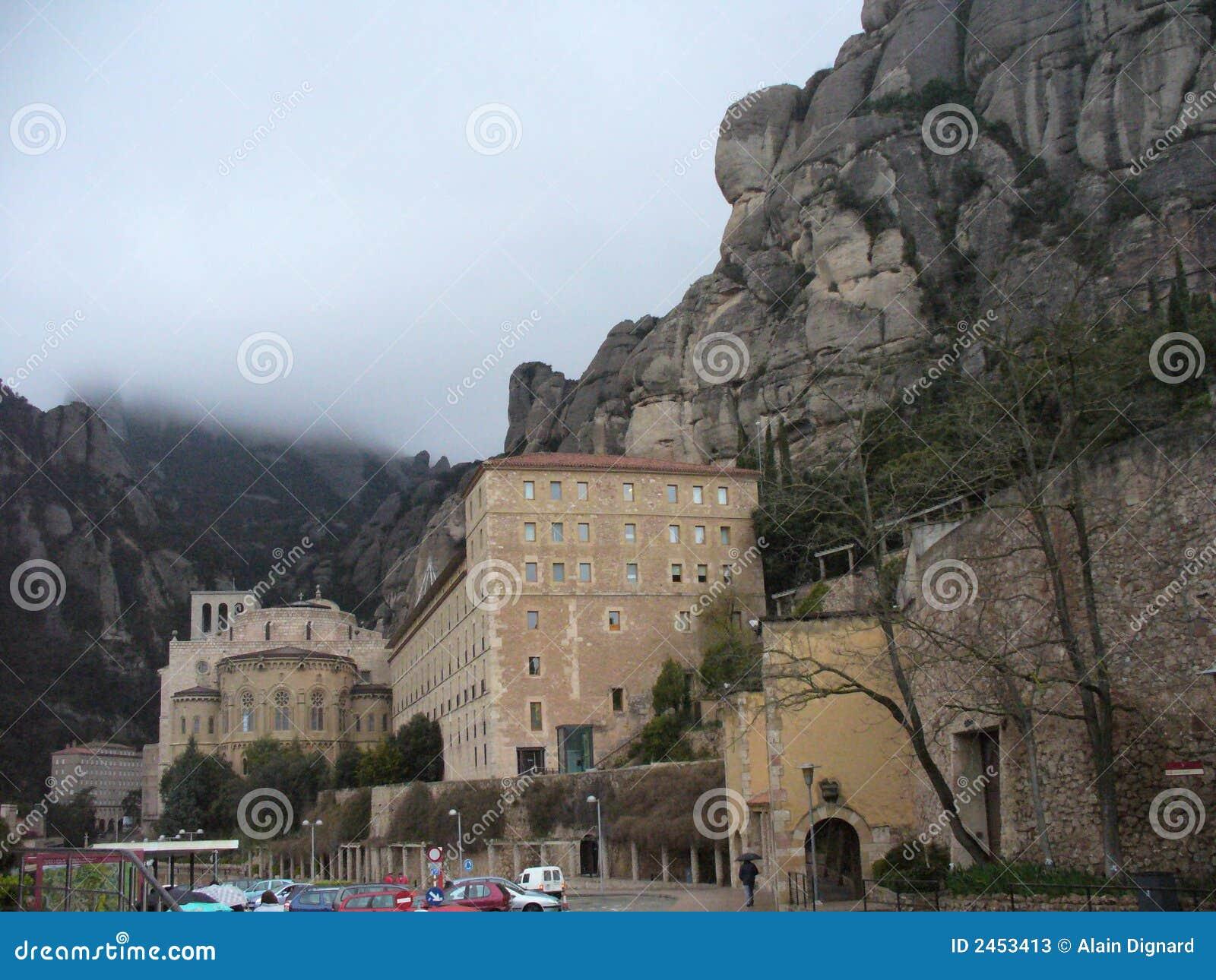 Monastery in Montserrat Spain