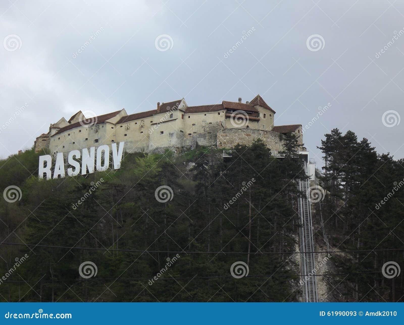 Monastery Rasnov form the city
