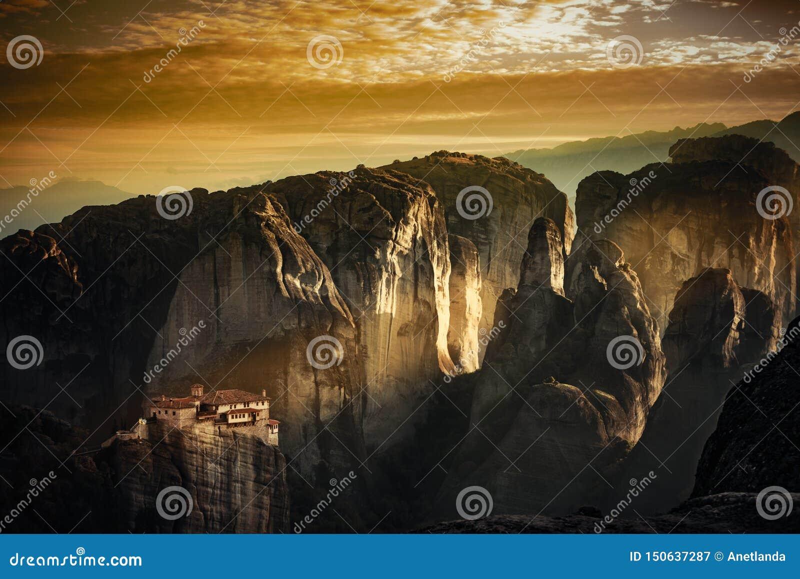 Monastery of Rousanou, Meteora Greece