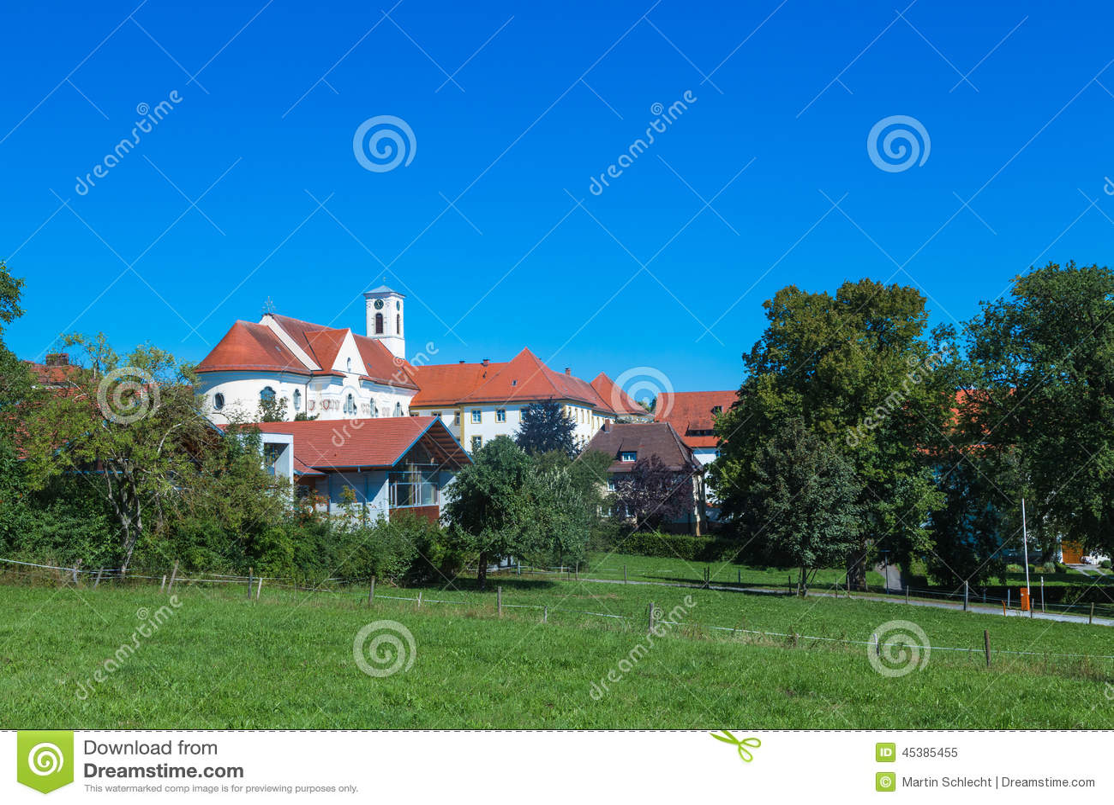 monastery siessen stock photo image 45385455. Black Bedroom Furniture Sets. Home Design Ideas