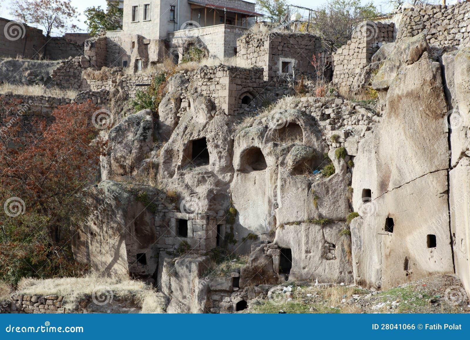 Monastery Valley In Guzelyurt, Aksaray. Royalty Free Stock ...