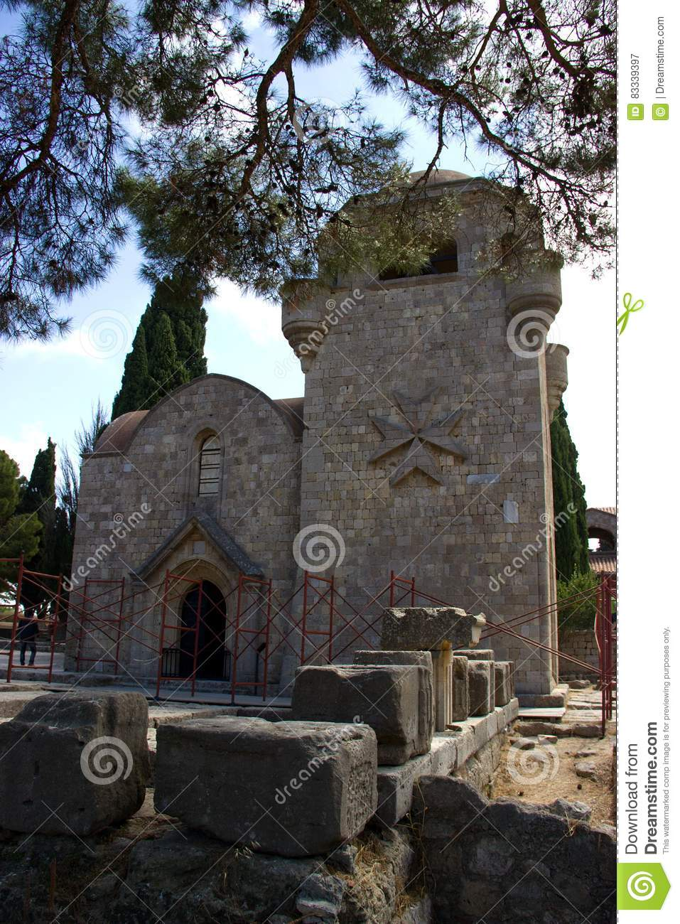 Monastry of filerimos Rhodos Greece
