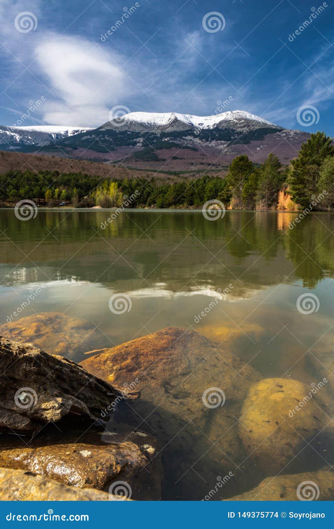 Moncayo φυσική φυσική λίμνη πάρκων
