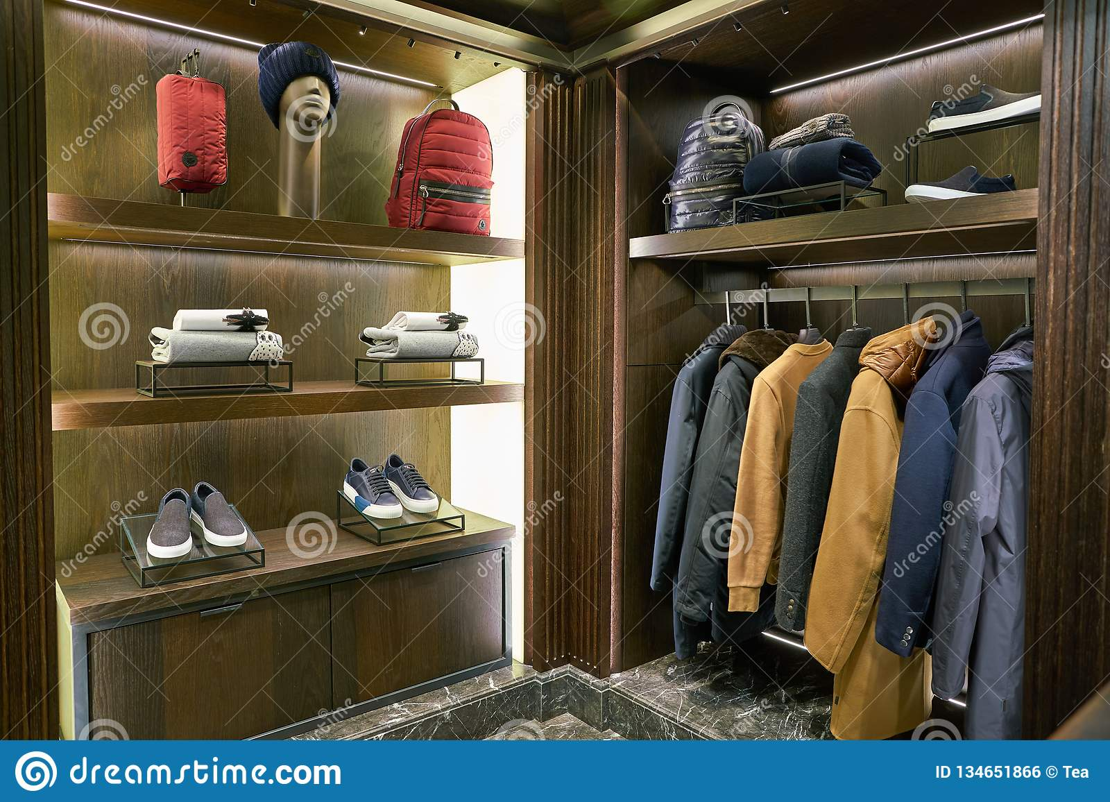 3ae9b9789 Moncler editorial photo. Image of centre, mall, interior - 134651866