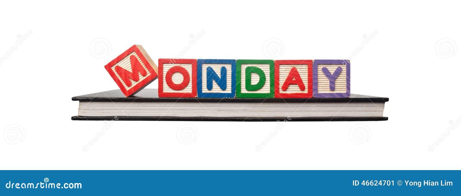 Monday Word Monday Stock Ph...