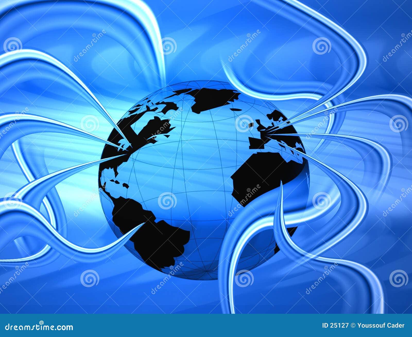Monde de câble