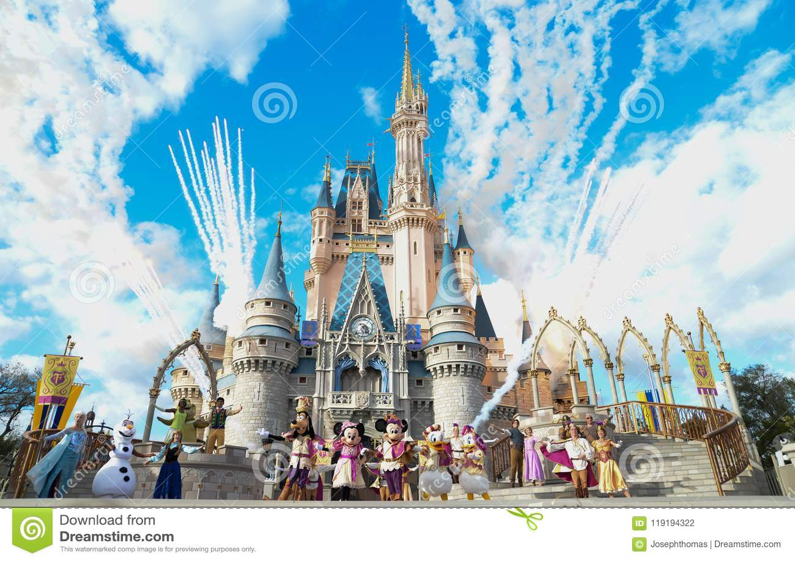 Monde de Disney Royaume magique