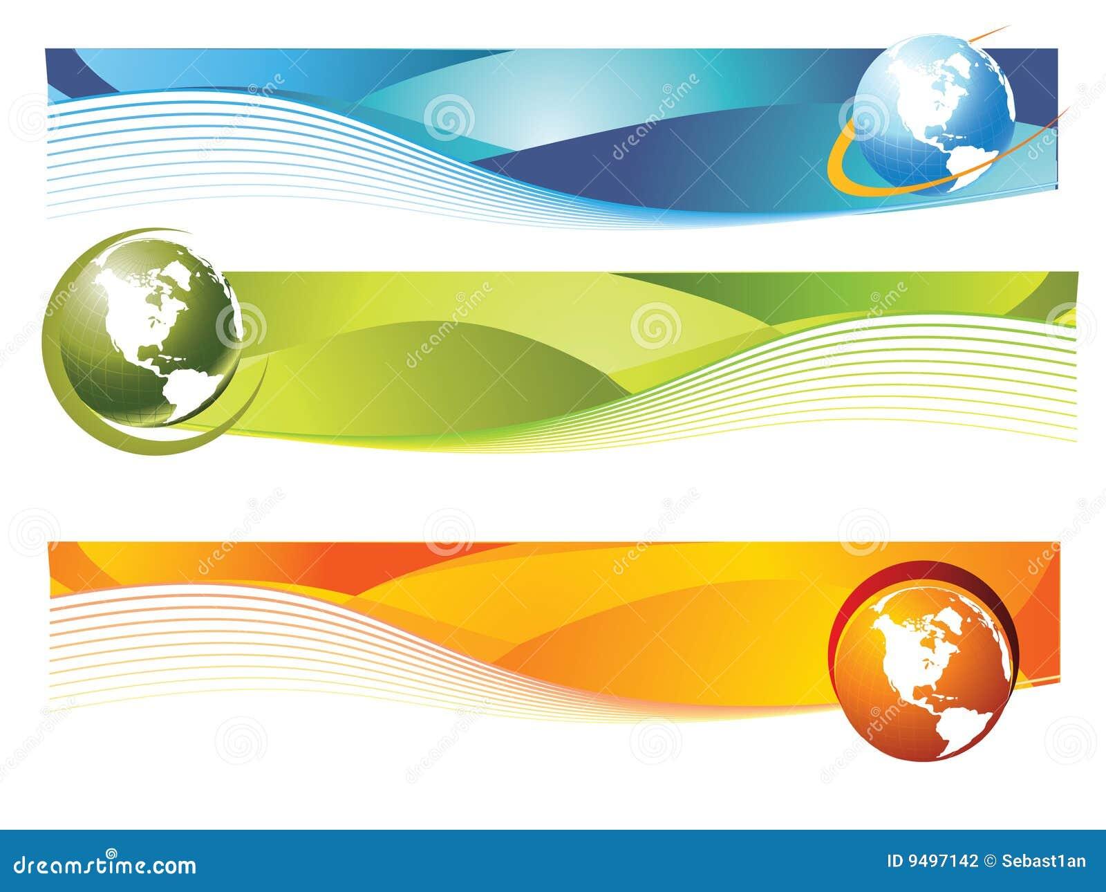 Monde de drapeau