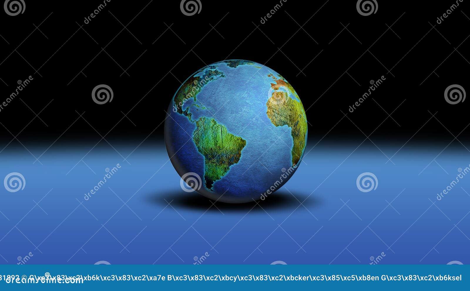 Monde de globe