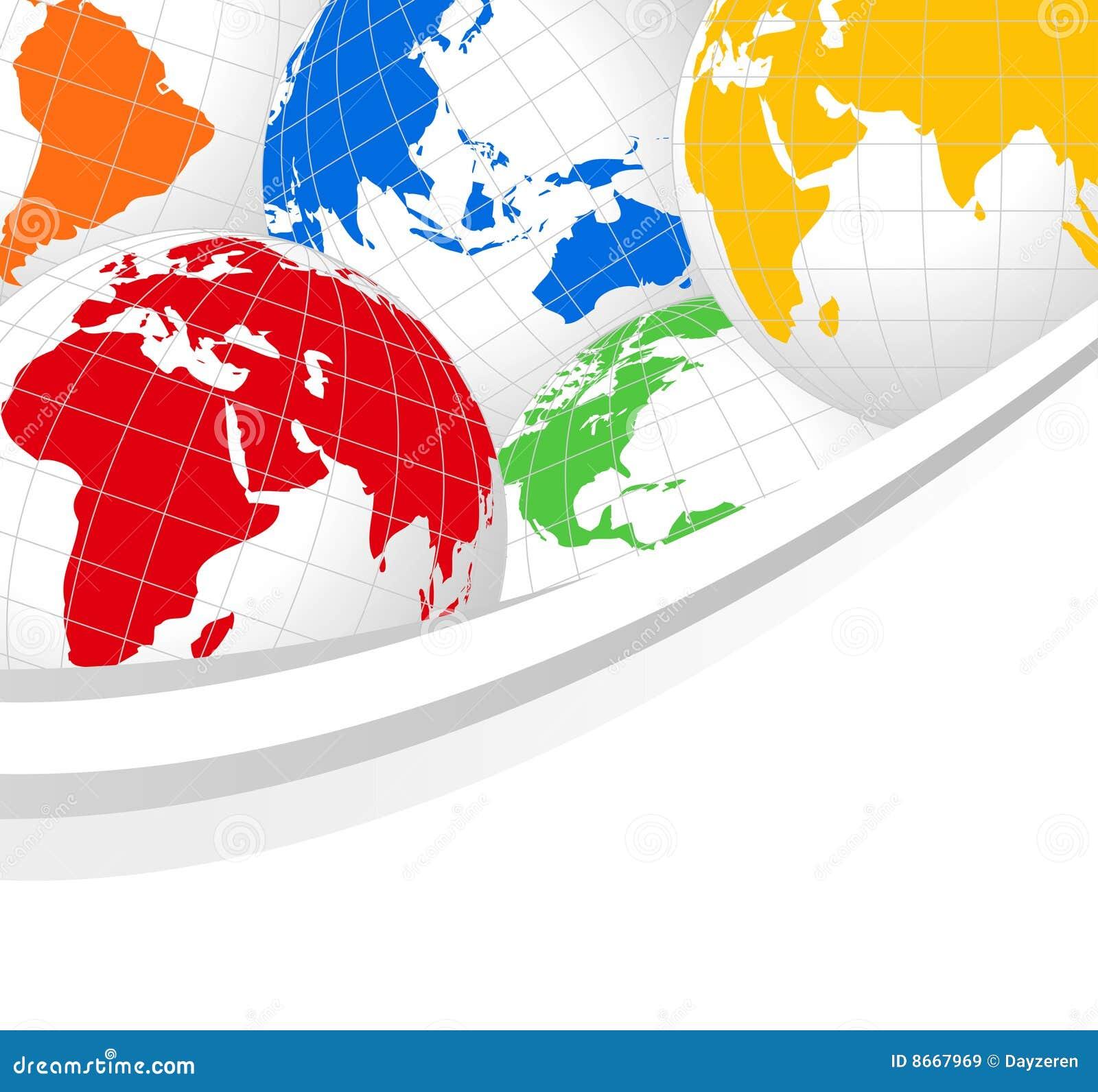 Monde de globes