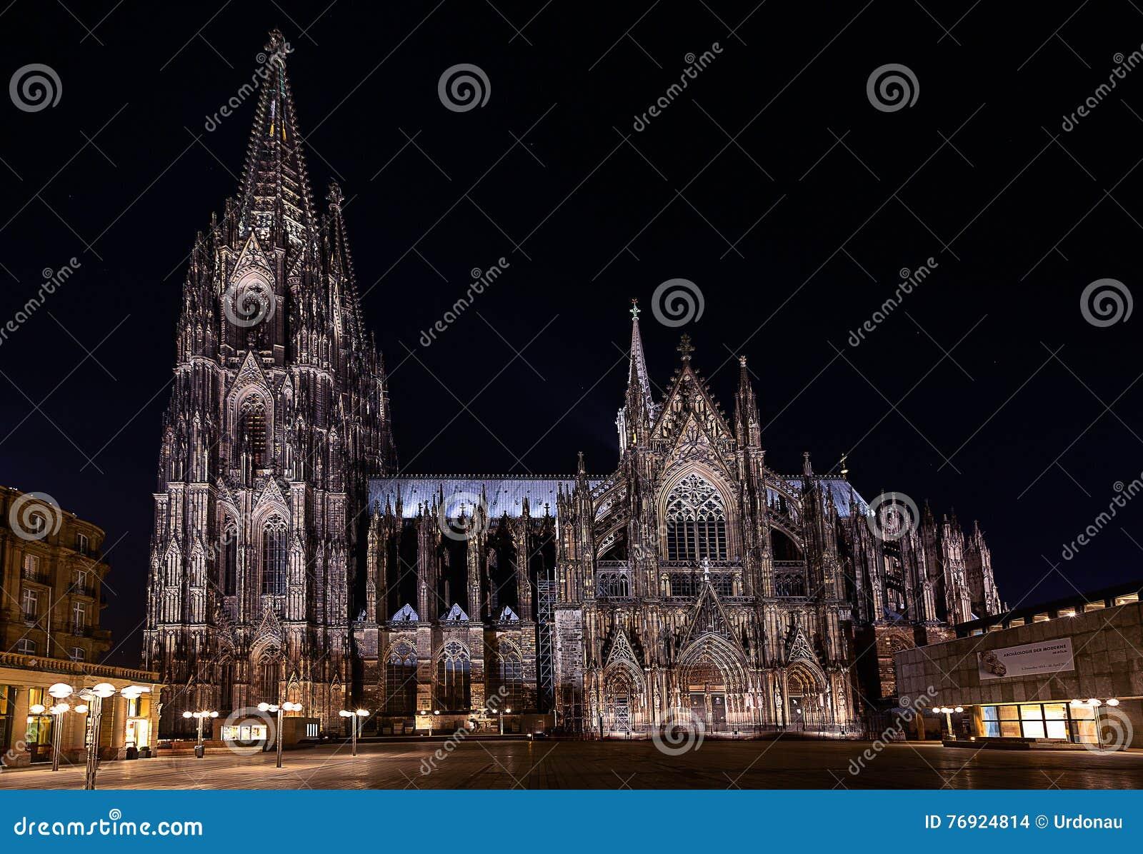 Monde international de l UNESCO de site de borne limite d héritage célèbre de l Allemagne de cologne de cathédrale