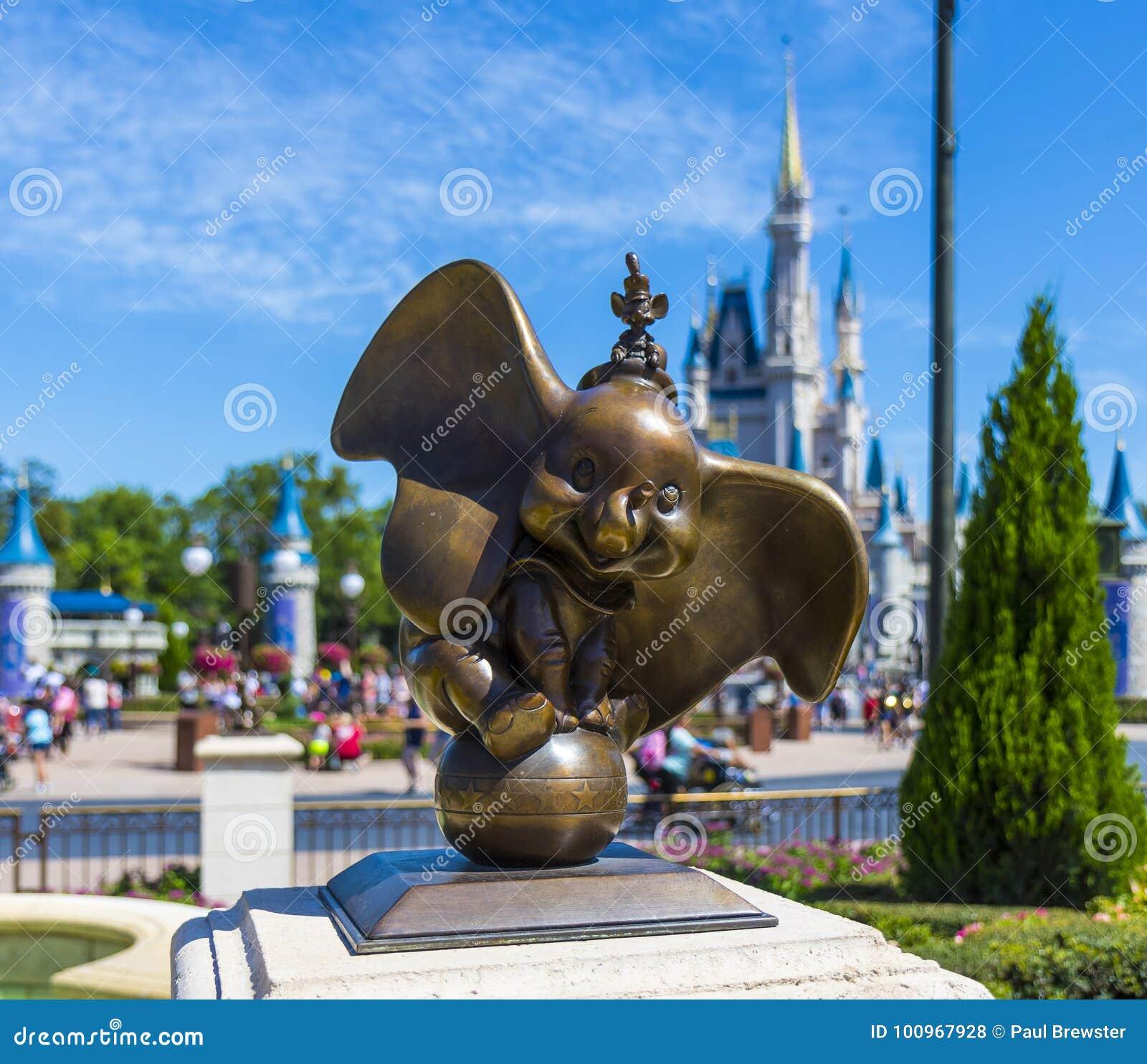 Monde Orlando Florida Magic Kingdom Dumbo de Disney