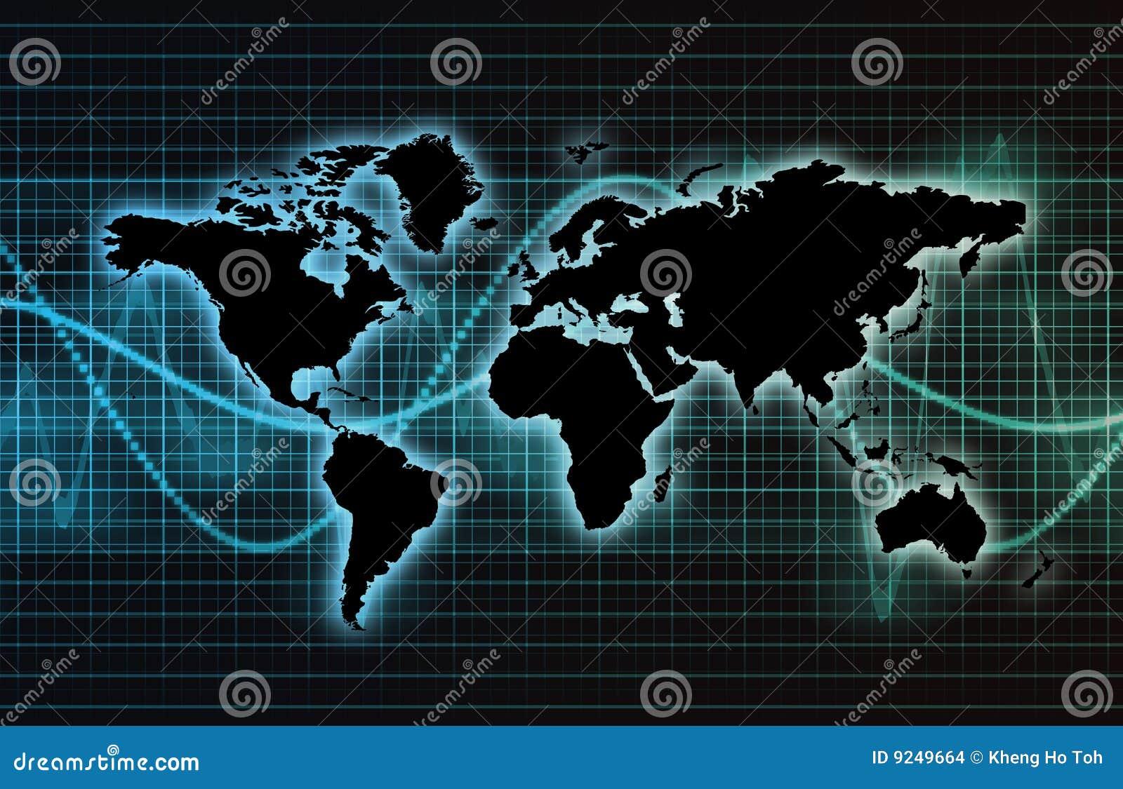 Mondiale Net het telecommunicatie van de Industrie