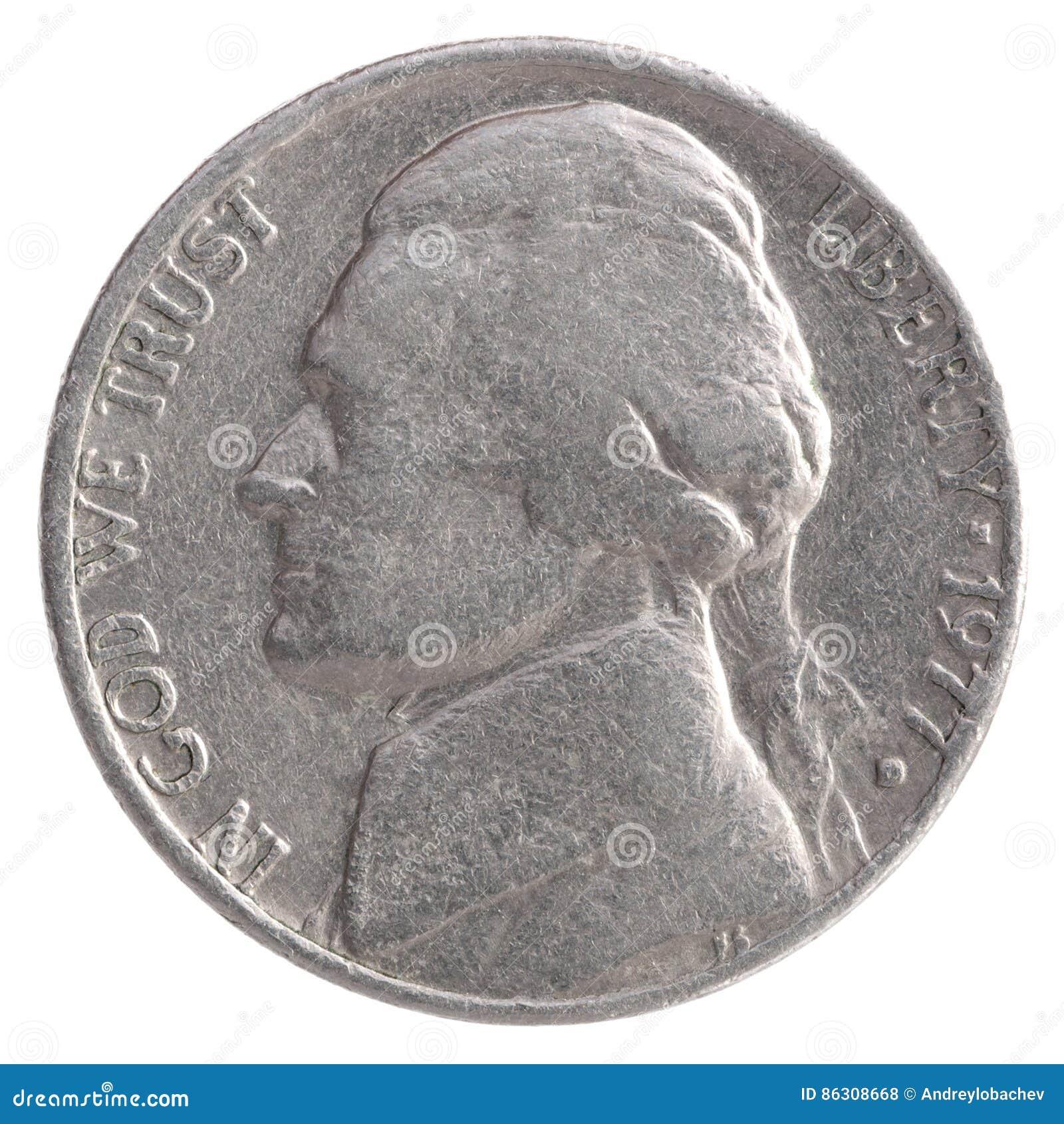 Moneda americana del dólar cuarto