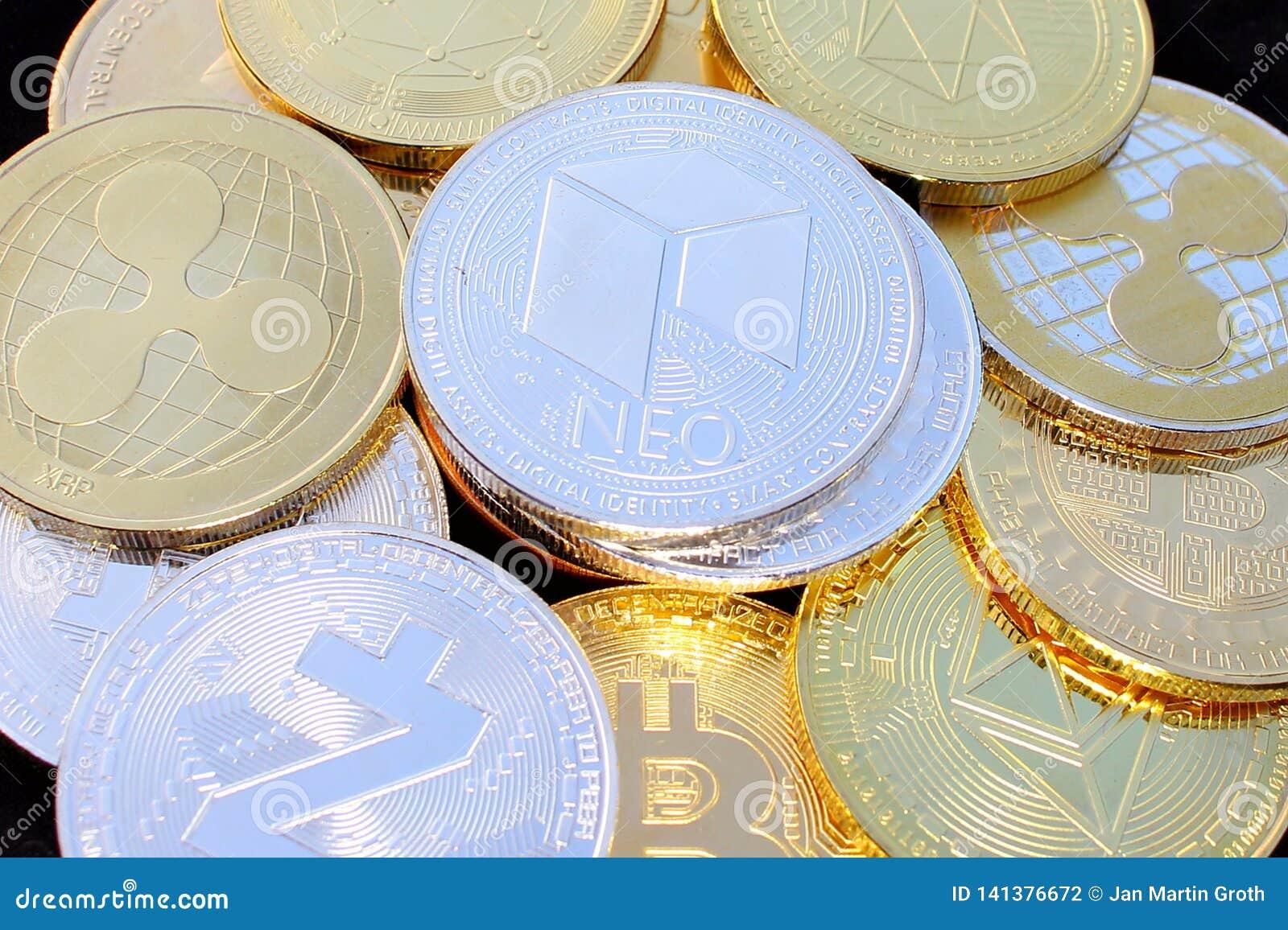 Moneda crypto nea entre otras monedas - moneda digital del futuro
