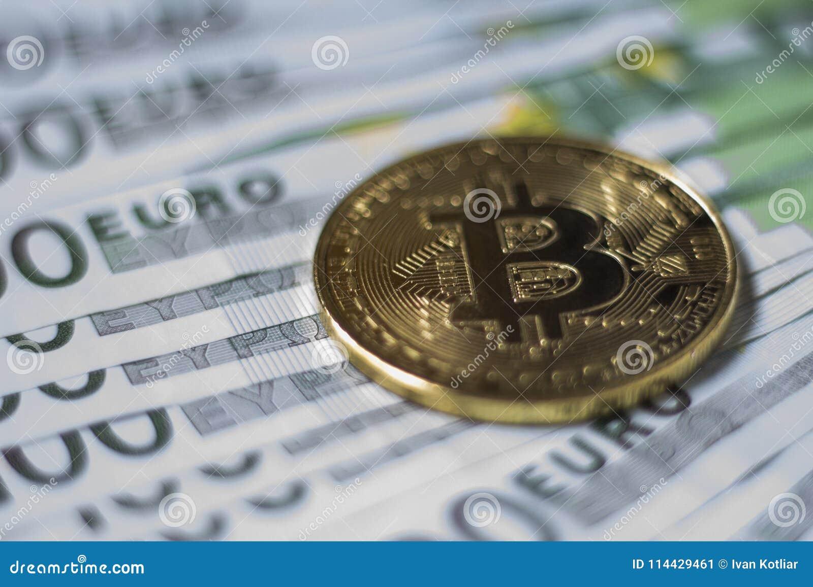 Moneda de Cryptocurrency Bitcoin