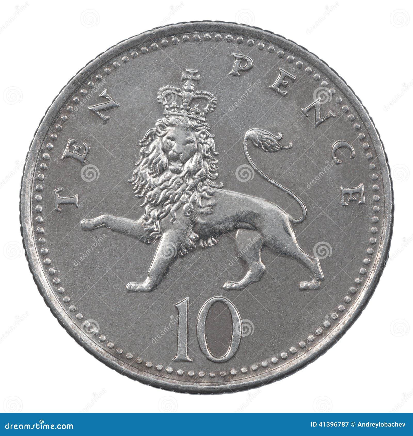 Moneda de diez peniques
