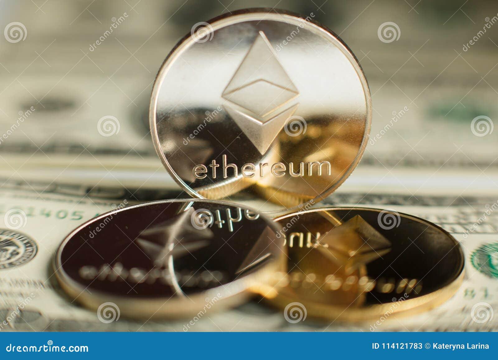 Moneda de Ethereum
