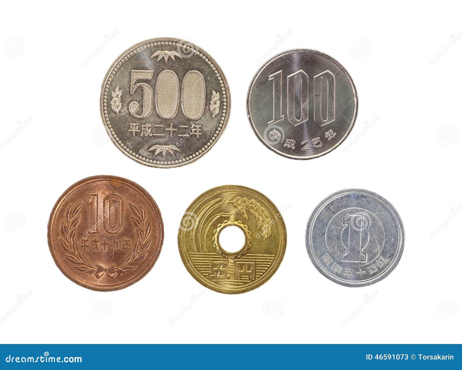 Moneda de los yenes japoneses