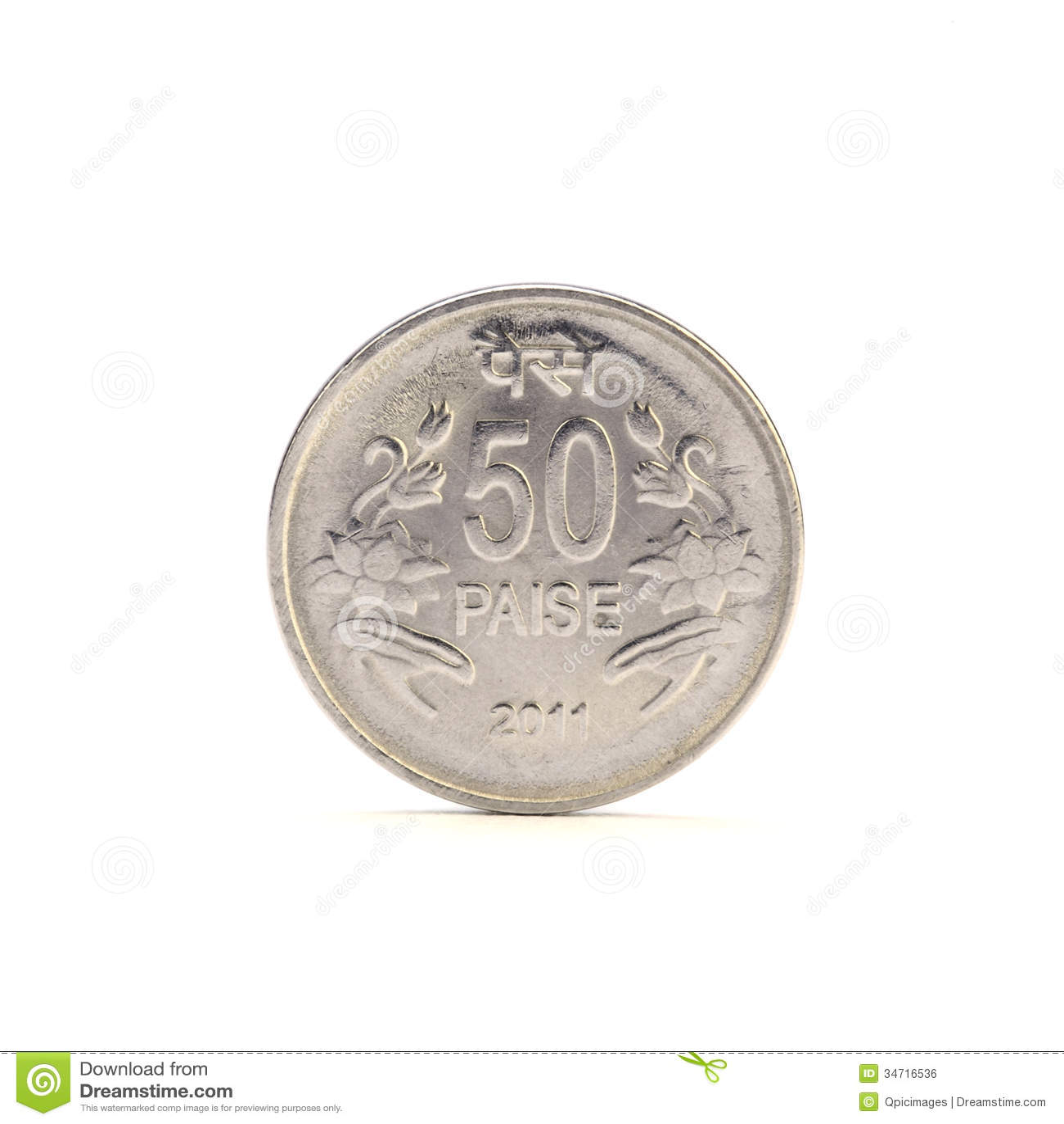 Moneda del paise del indio 50