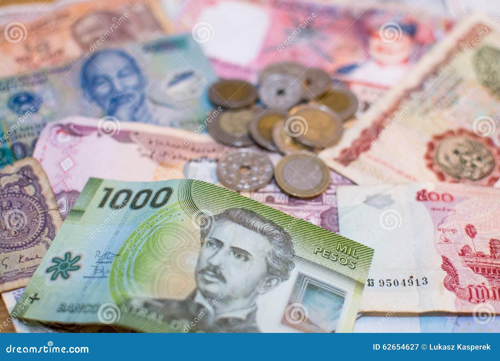 Moneda mezclada del mundo