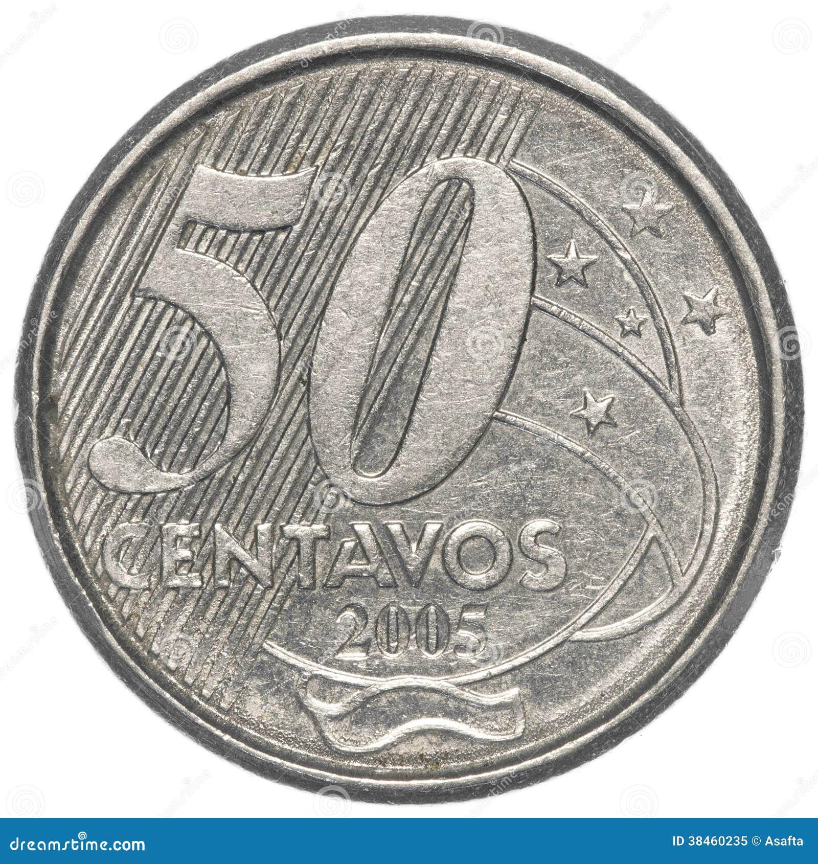 Chica de fondo de 50 centavos