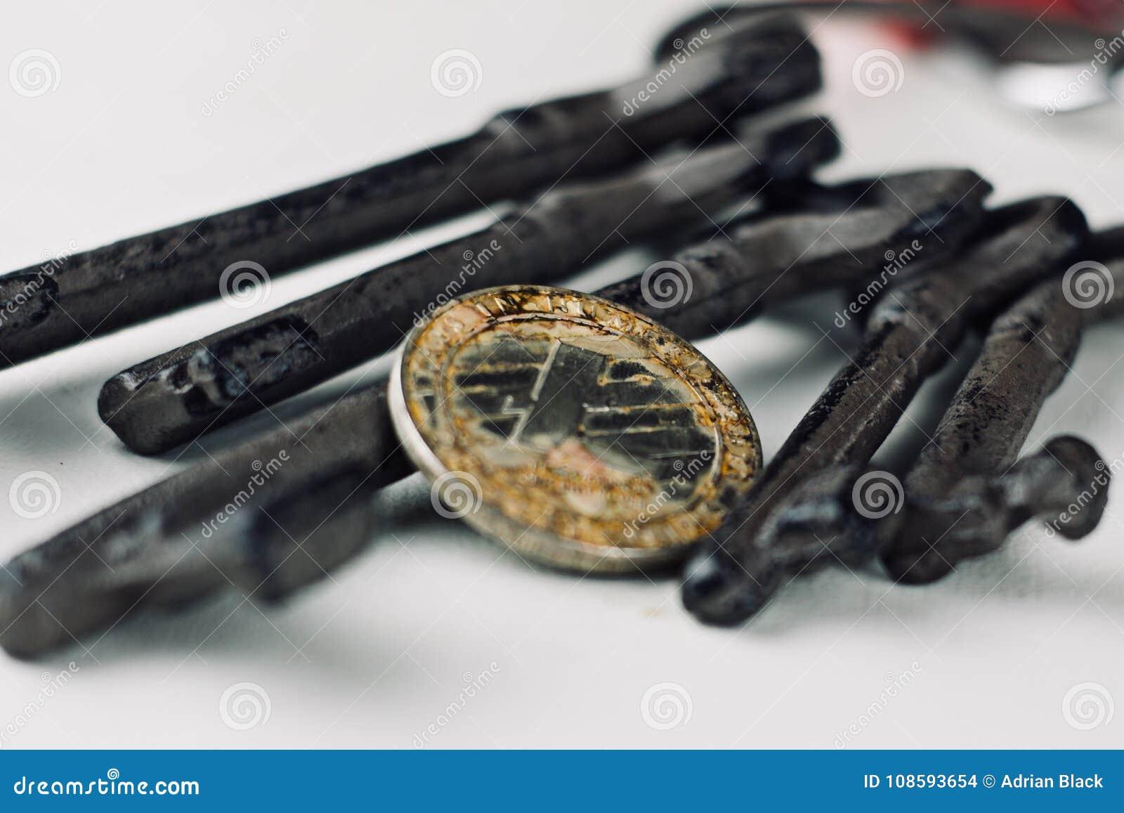 Moneda vieja de Litecoin